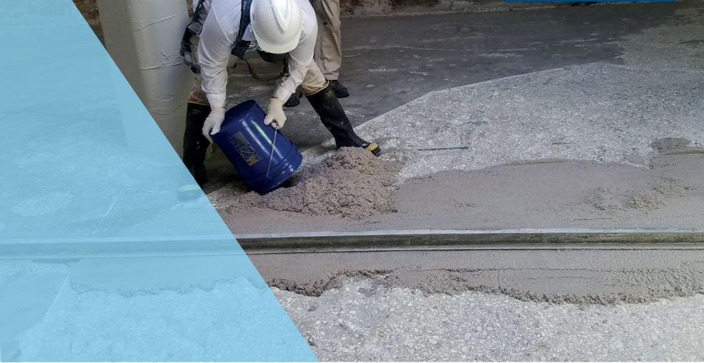 Floor Repair with Belzona Rodator