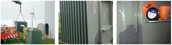 Emergency sealing for transformer leaks