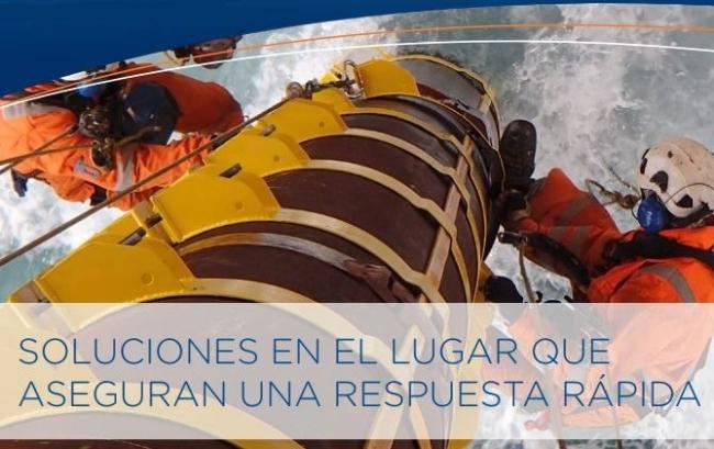 Reparaciones en plataformas marinas