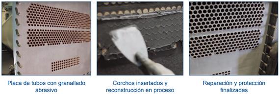Reparación y protección de climatizador