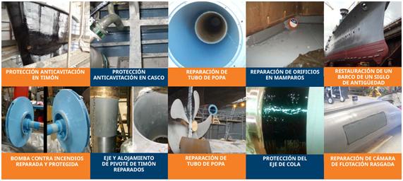 Belzona solutions for naval industry maintenance